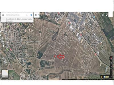 Teren de vanzare in zona Selgros-Damila