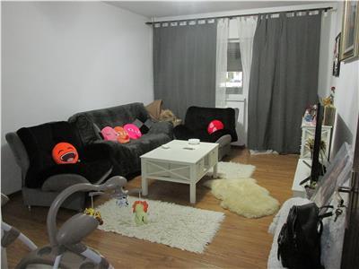 Apartament cu 2 camere semidecomandat renovat si mobilat